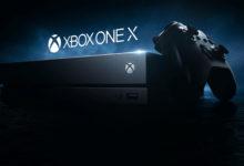 صورة عرض جديد لجهاز Xbox One X المنزلي