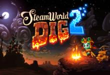 صورة عرض اطلاق لعبة SteamWorld Dig 2