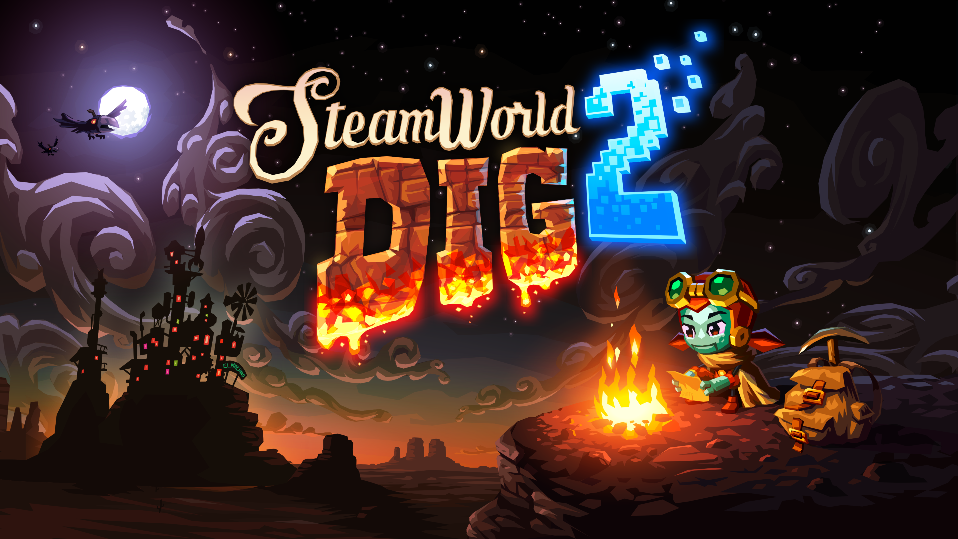SteamWorld Dig 2 Wallpaper 4K