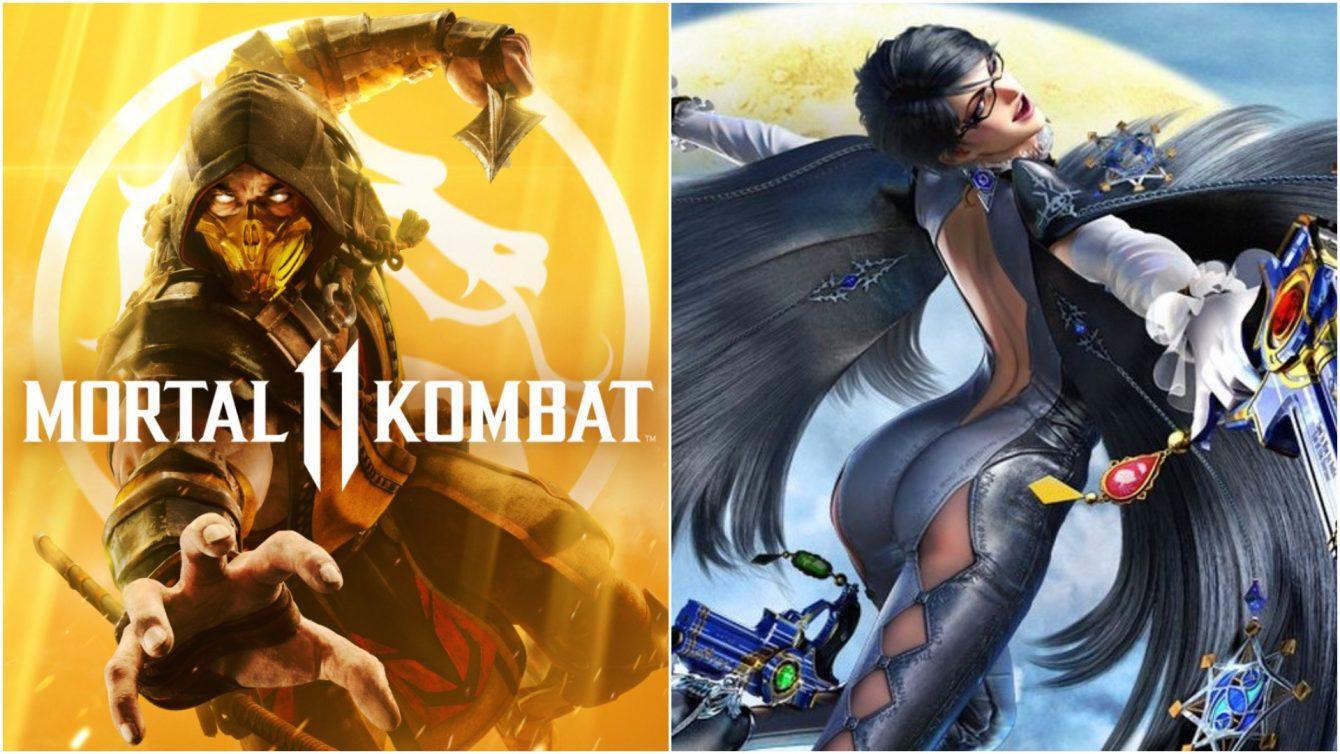 Mortal11Kombat X Bayonetta