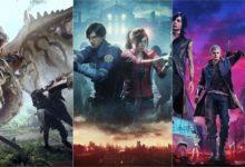 صورة قائمة أفضل ألعاب شركة Capcom من ناحية المبيعات