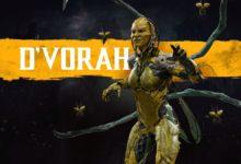 صورة الكشف عن شخصية D'Vorah في لعبة Mortal11Kombat