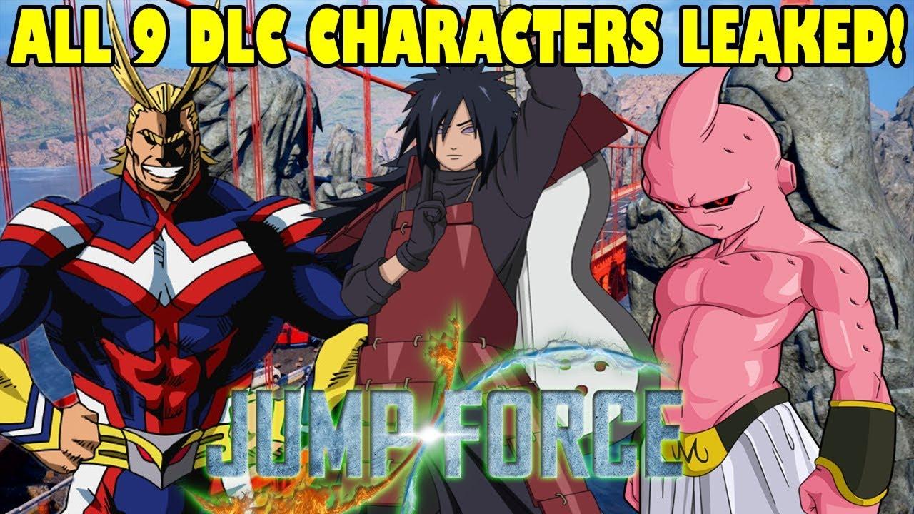 Photo of تسريب الشخصيات القادمة للعبة Jump Force