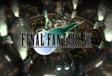 صورة عرض اطلاق لعبة Final Fantasy VII
