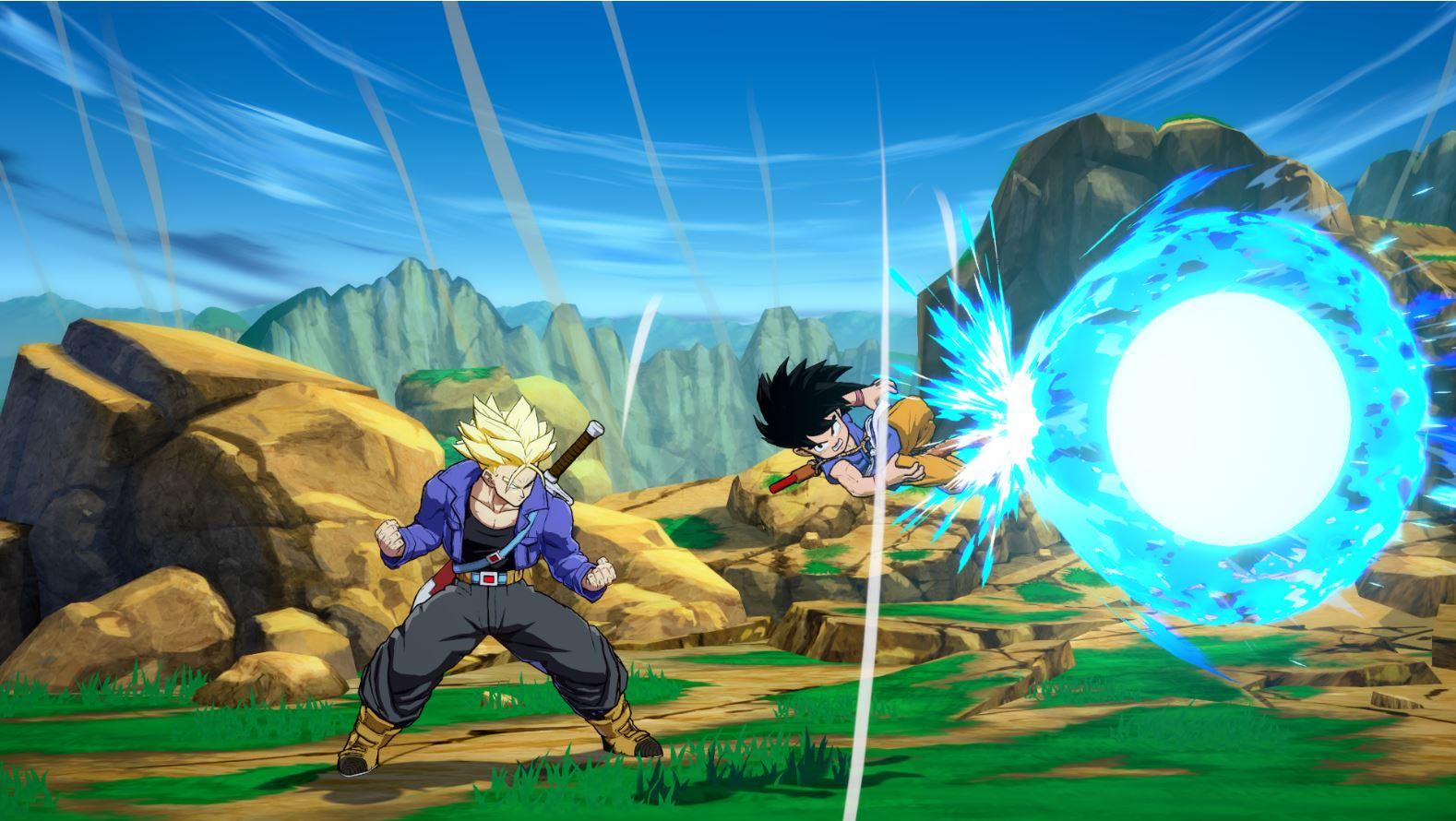 Dragon Ball FighterZ Goku GT 2