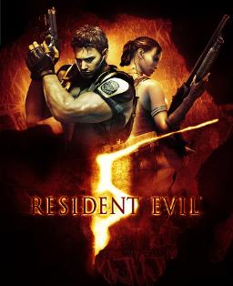 Resident Evil 5 Box Artwork
