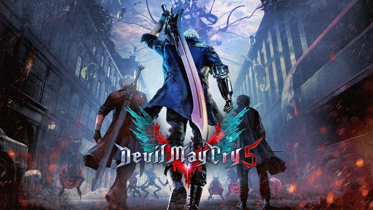 devil may cry 5 artwork