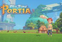 صورة عرض اطلاق لعبة My time at portia