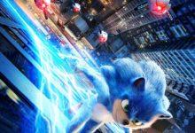 صورة العرض الدعائي الأول لفيلم Sonic the Hedgehog .