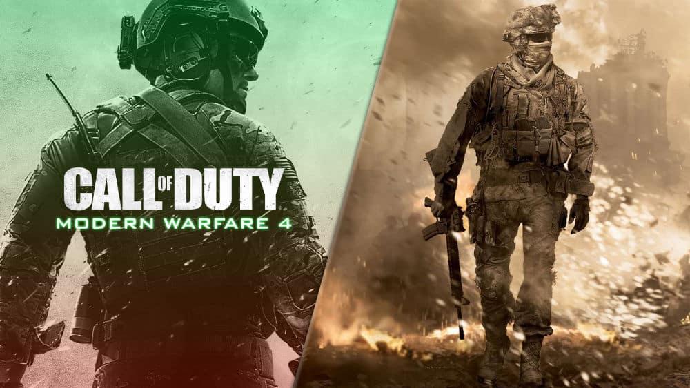 Call of Duty Modern Warfare 4 MW4 MW2
