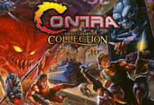 صورة الإعلان عن حزمة ألعاب Contra Anniversary Collection .