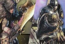 صورة إستعراض أسلحة Dual Blades و Sword & Shield القادمة ضمن توسعة Iceborne الخاصة بلعبة Monster Hunter World .