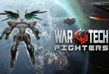 صورة الإعلان عن موعد إصدار لعبة War Tech Fighters لأجهزة الكونسول المنزلية .
