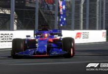 صورة عرض دعائي جديد للعبة F1 2019.
