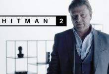 صورة عودة الممثل Sean Bean كهدف مؤقت بلعبة Hitman 2 .