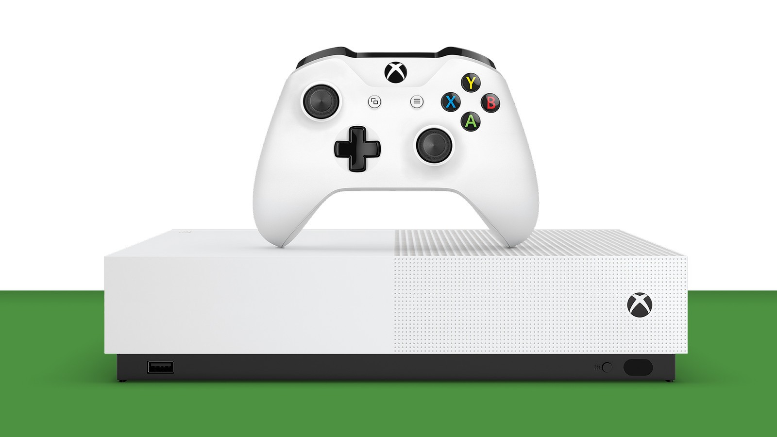 xbox one s all digital front