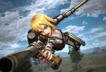 صورة مجموعة جديدة من العروض الدعائية تسلط الضوء على الأسلحة الموجودة بلعبة Attack on Titan 2: Final Battle .