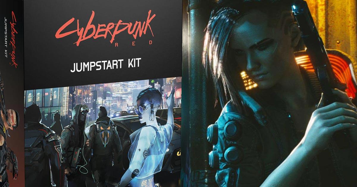 Jumpstart Kit di Cyberpunk Red