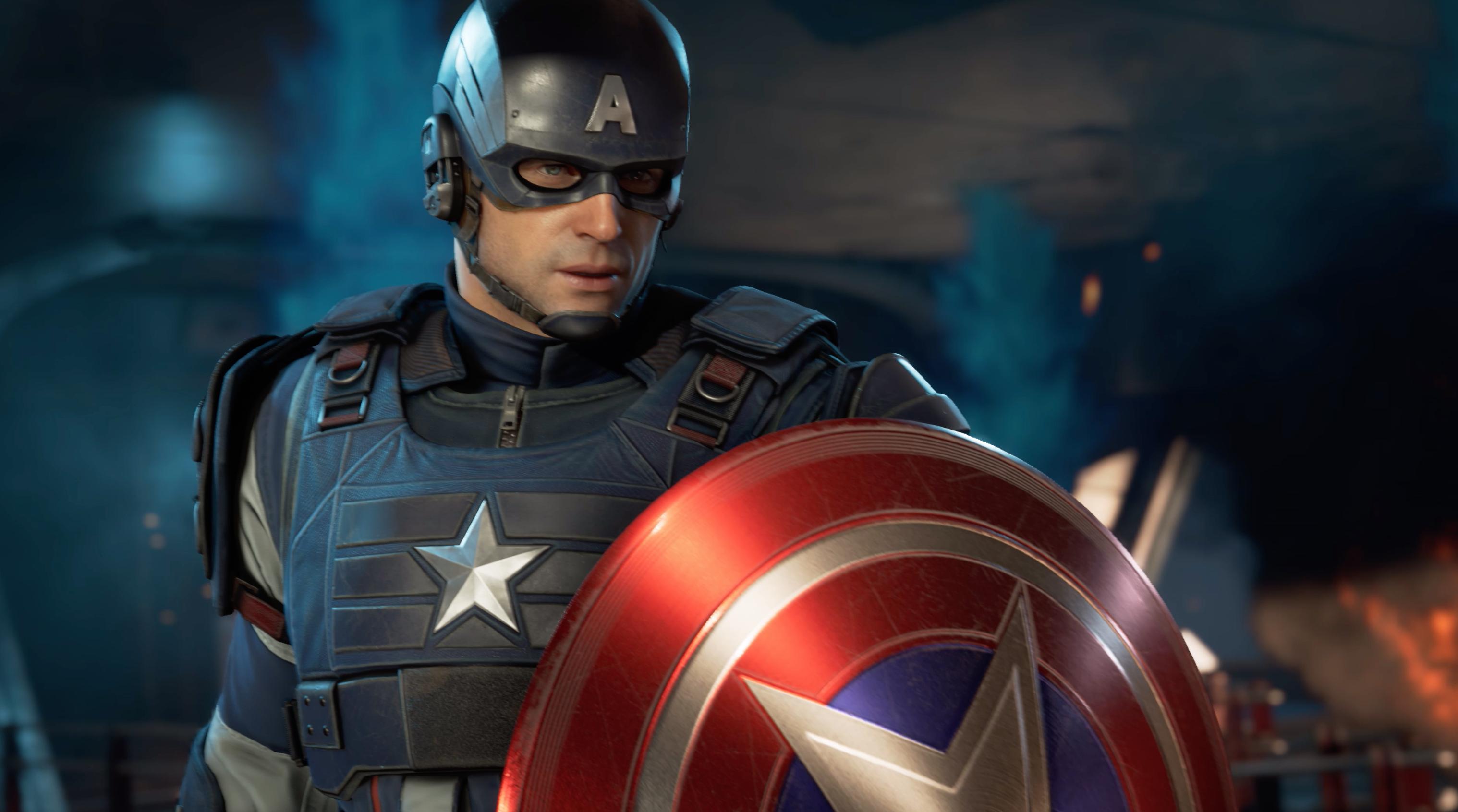 Marvels Avengers Cap