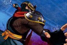صورة الإعلان عن شخصية Hanzo من لعبة القتال Samurai Shodown .