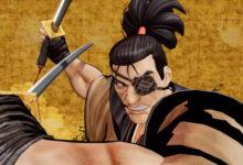 صورة الإعلان عن شخصية Jubei كأحدث الشخصيات المنضمة للعبة Samurai Shodown .