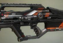 صورة عرض جديد للعبة Apex Legends يسلط الضوء على سلاح L-Star .