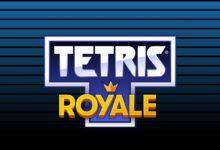 صورة الإعلان عن لعبة Tetris Royale للهواتف الذكية العاملة بنظام Android و IOS .