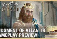 Photo of نظرة على أسلوب اللعب والجيم بلاي الخاص بالمحتوى الإضافي Assassin's Creed Odyssey: Judgment of Atlantis .