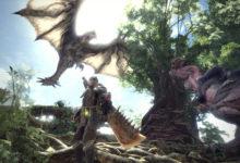 صورة عرض جديد للاضافة القادمة للعبة Monster Hunter World