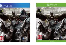 صورة رصد حزمة Batman Arkham Collection من خلال موقع Amazon UK .