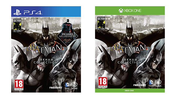 Photo of رصد حزمة Batman Arkham Collection من خلال موقع Amazon UK .