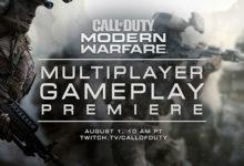 صورة بتاريخ 1 أغسطس سنحصل على الإستعراض الأول لطور الأونلاين بلعبة Call of Duty: Modern Warfare