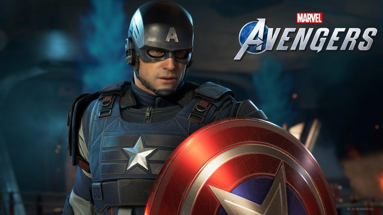 Marvels Avengers Captain Americ