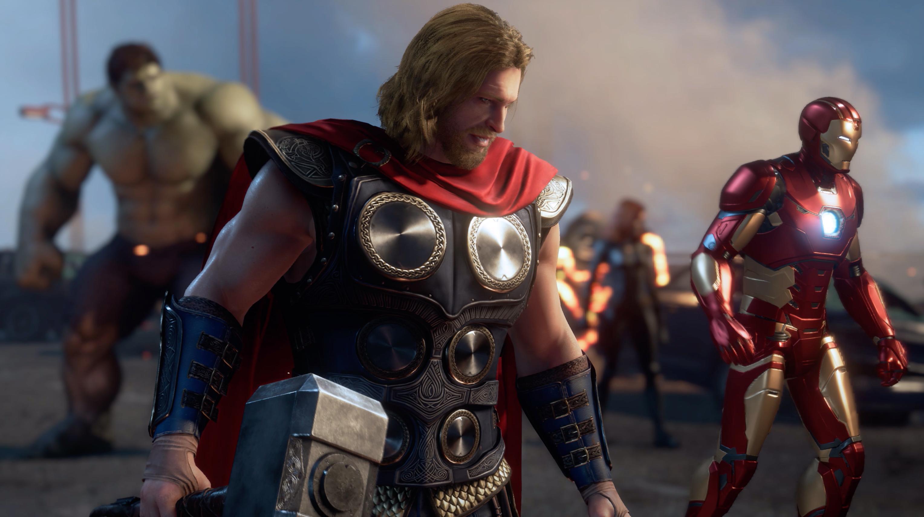 Photo of مزيد من التفاصيل التي تخص لعبة Marvel's Avengers من المقرر الكشف عنها خلال حدث Comic-Con 2019 .