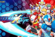صورة الإعلان عن لعبة Megaman X DiVE للهواتف الذكية العاملة بنظام تشغيل Android و IOS