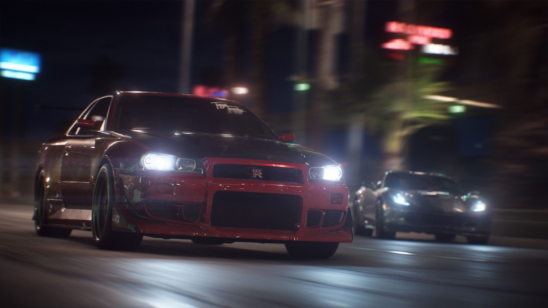Need for Speed Payback Bring Down The House 1080p clean R34GTR screenshot4 1080