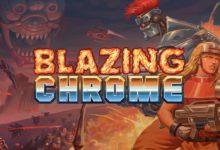 صورة تحصل لعبة Blazing Chrome على عرض الاطلاق