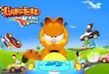 صورة الإعلان بشكل رسمي عن لعبة Garfield Kart: Furious Racing .