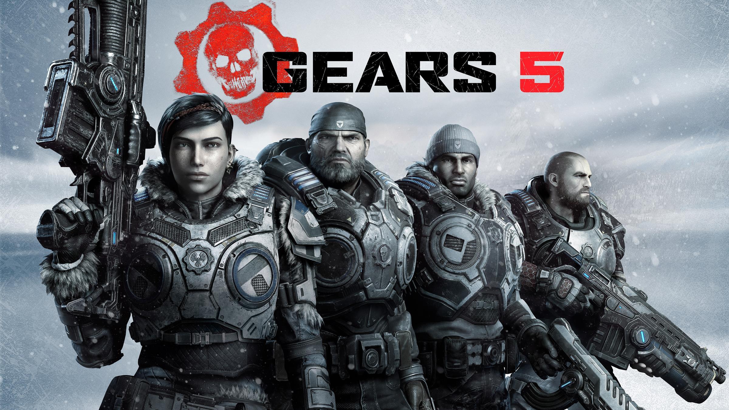 gears 5 squad art 1