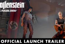صورة عرض الإطلاق الخاص بلعبة Wolfenstein: Youngblood .