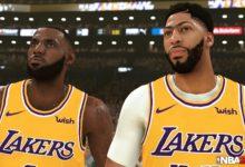 صورة الصورة الأولى من داخل لعبة NBA 2K20 تظهر مدى قوة رسومات اللعبة .