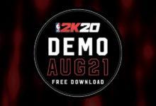 صورة النسخة التجريبية من لعبة NBA 2K20 قادمة بتاريخ 21 أغسطس .
