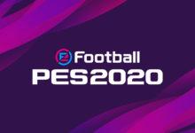 صورة الكشف عن الغلاف الرسمي للعبة PES20