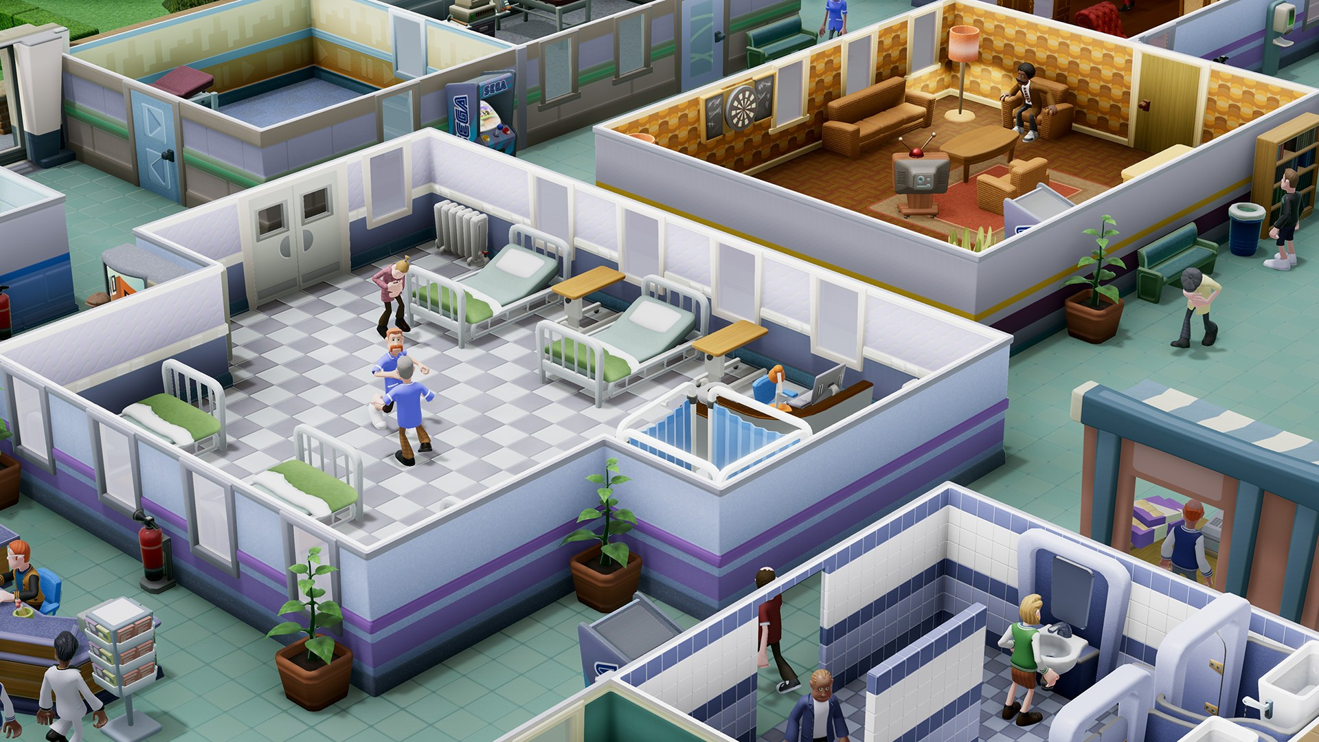 two point hospital wallpaper 3