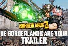 صورة عرض دعائي جديد للعبة Borderlands 3 يحمل عنوان (The Borderlands are Yours) .