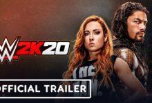 صورة الإعلان بشكل رسمي عن لعبة WWE 2K20 والمصارعة Becky Lynch تتصدر غلاف اللعبة .