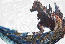 صورة عرض دعائي جديد لتوسعة Monster Hunter World: Iceborne يسلط الضوء على وحش Glavenus .