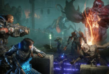 صورة نسخة جديدة لجهاز Xbox one X خاصة بلعبة Gears 5