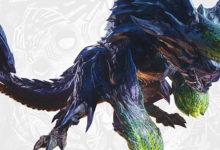 صورة عرض دعائي جديد لتوسعة Monster Hunter World: Iceborne يسلط الضوء على وحش Brachydios .