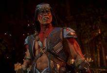 صورة العرض الدعائي الأول لشخصية Nightwolf القادمة للعبة Mortal Kombat 11 .